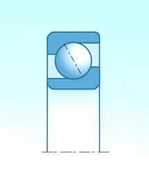 31,7 mm x 69,8 mm x 17,4 mm  SKF 406270 roulements à billes à contact oblique