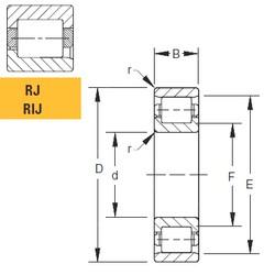 150 mm x 235 mm x 38 mm  Timken 150RJ51 roulements à rouleaux cylindriques