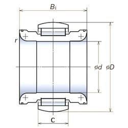 NSK 140RNP2401 roulements à rouleaux cylindriques