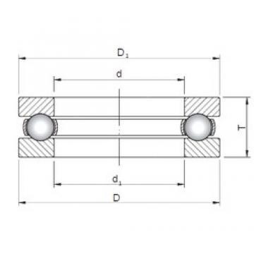 ISO 51180 butées à billes