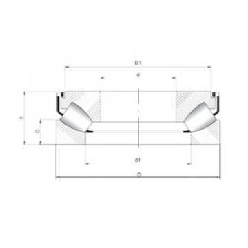 ISO 29322 M roulements à rouleaux de poussée
