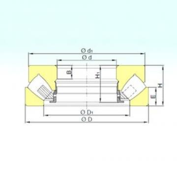 1180 mm x 1520 mm x 83 mm  ISB 292/1180 M roulements à rouleaux de poussée
