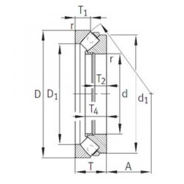 INA 29268-E1-MB roulements à rouleaux de poussée