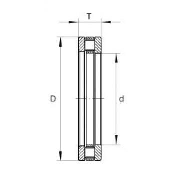 INA RT756 roulements à rouleaux de poussée