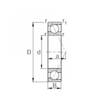 70 mm x 150 mm x 35 mm  CYSD 7314 roulements à billes à contact oblique