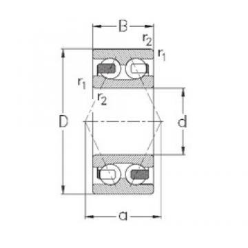 12 mm x 32 mm x 15,9 mm  NKE 3201-B-TV roulements à billes à contact oblique