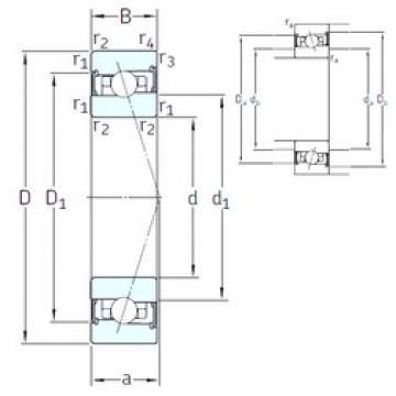 50 mm x 80 mm x 16 mm  SNFA HX50 /S 7CE3 roulements à billes à contact oblique