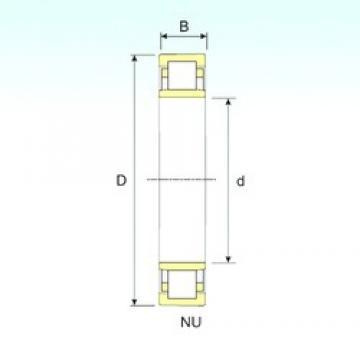 460 mm x 830 mm x 212 mm  ISB NU 2292 roulements à rouleaux cylindriques
