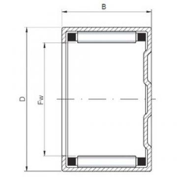 ISO BK1512 roulements à rouleaux cylindriques