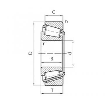 SKF BT1B328251/Q Roulements à rouleaux coniques