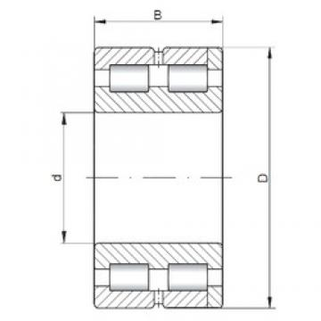 380 mm x 520 mm x 140 mm  ISO SL014976 roulements à rouleaux cylindriques