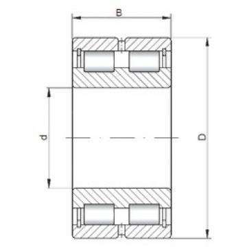 360 mm x 440 mm x 80 mm  ISO SL024872 roulements à rouleaux cylindriques