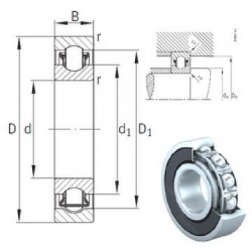 17 mm x 40 mm x 12 mm  INA BXRE203-2RSR roulements à aiguilles