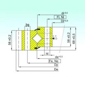 ISB ER1.16.1314.400-1SPPN roulements à rouleaux de poussée