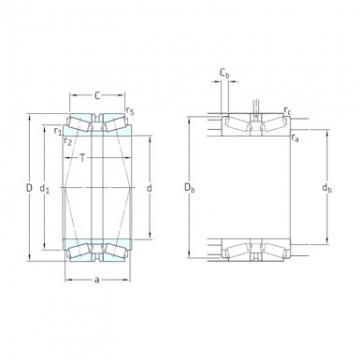SKF 32048T172X/DB Roulements à rouleaux coniques