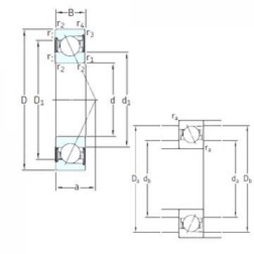 45 mm x 85 mm x 19 mm  SKF SS7209 CD/HCP4A roulements à billes à contact oblique
