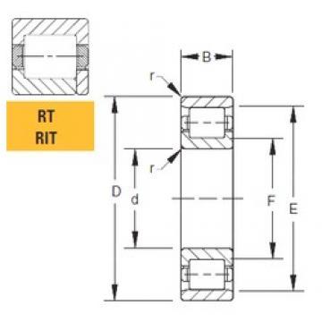 152,4 mm x 266,7 mm x 61,91 mm  Timken 60RIT249 roulements à rouleaux cylindriques