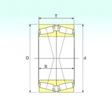 ISB 32017X/DF Roulements à rouleaux coniques